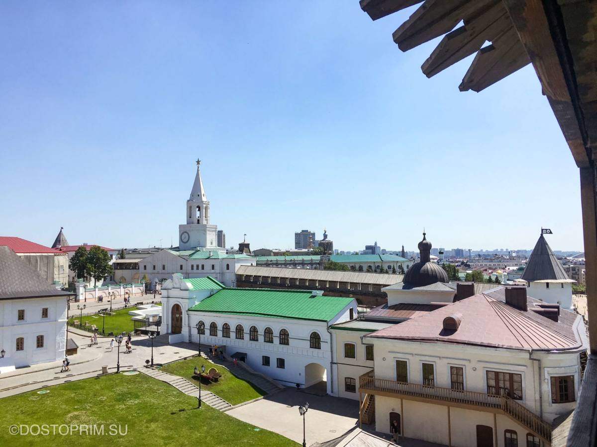 Экскурсии по Казани с посещением Кремля