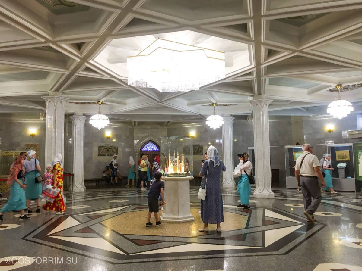 Мечеть Кул Шариф внутри