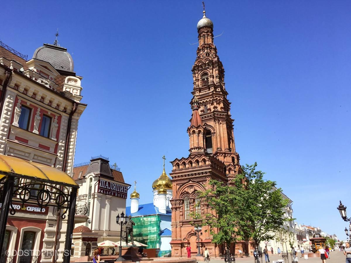 Экскурсии в Казани по улице Баумана
