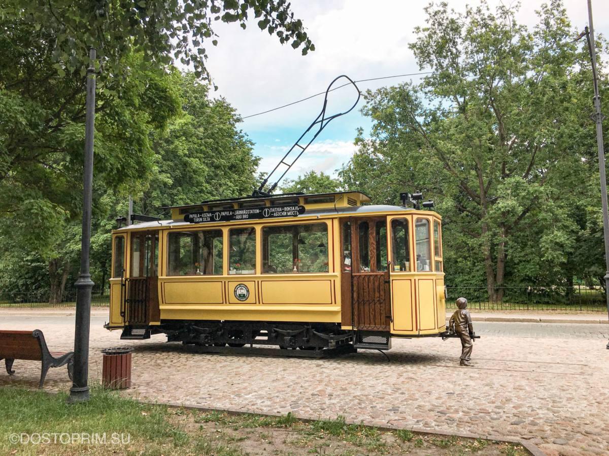 Трамвай-кафе