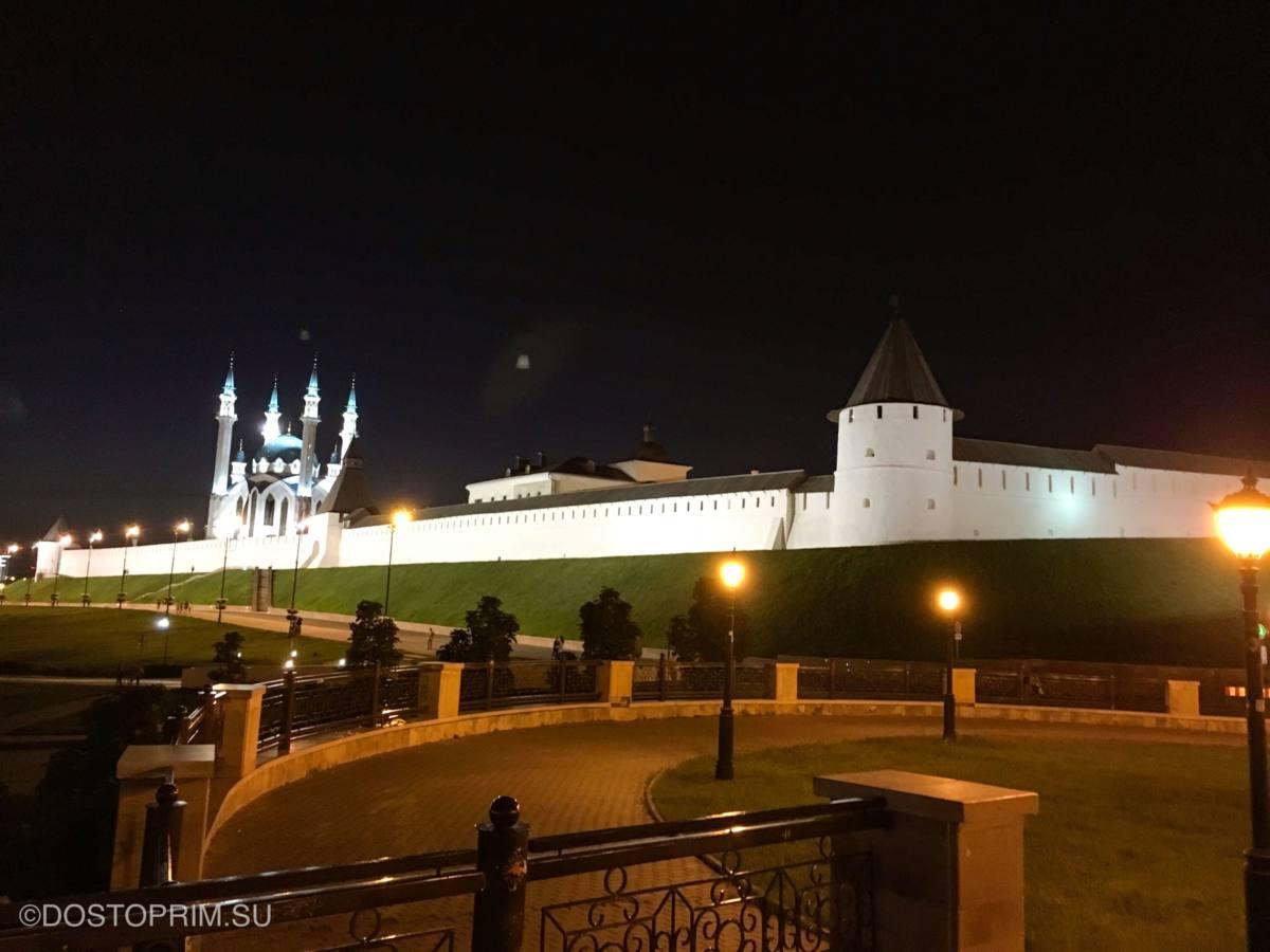 Ночные экскурсии по Казани