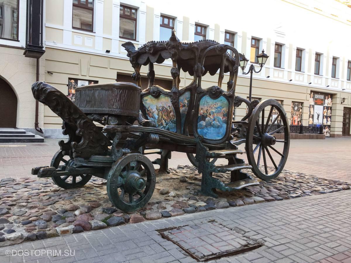 Памятник карете Екатерины II