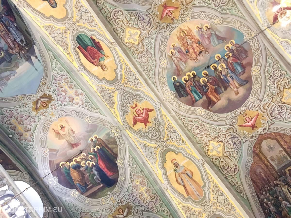 Иконы и фрески Благовещенского собора