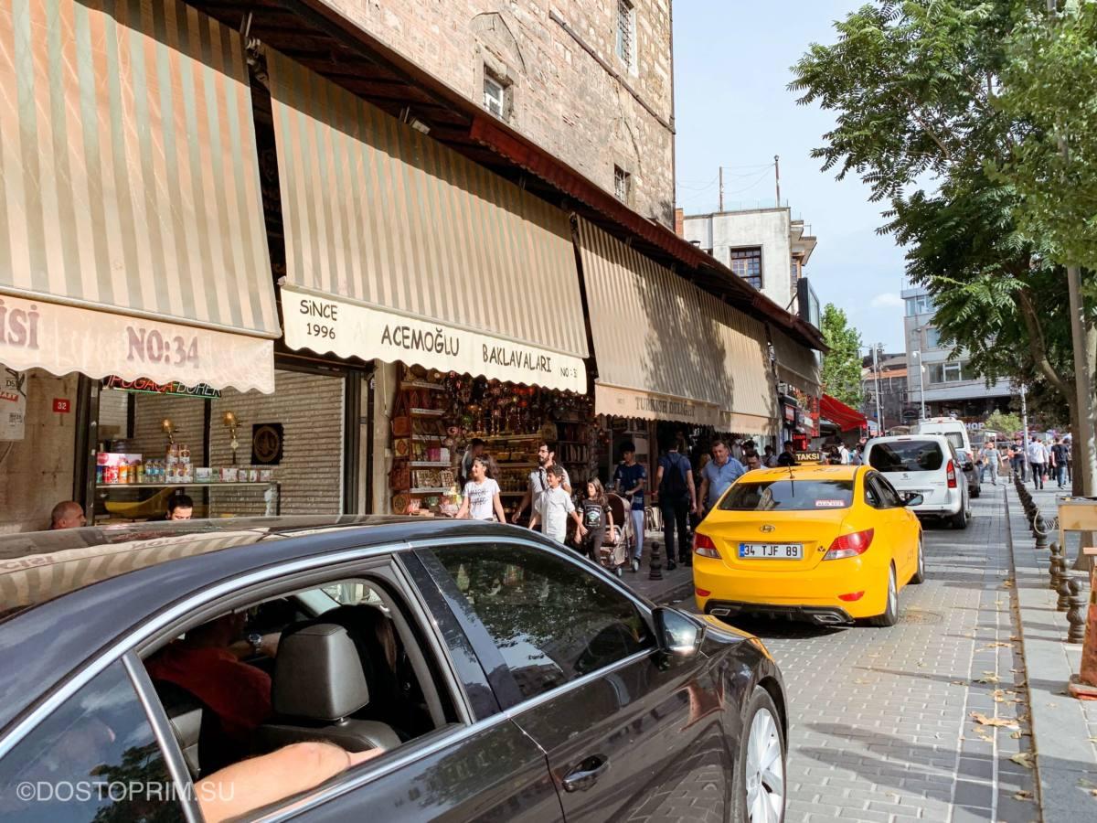 Как безопасно ездить на такси в Стамбуле