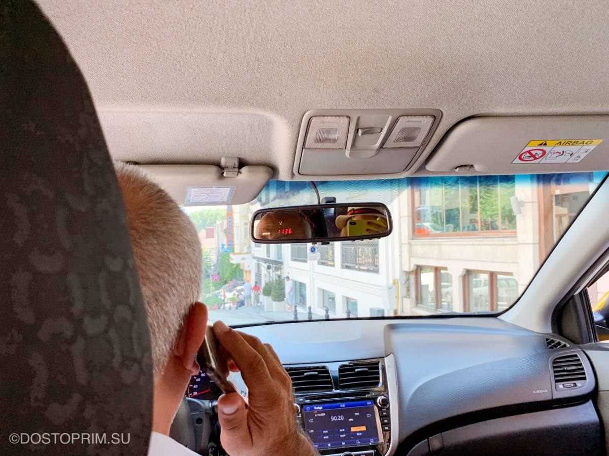 Как нас обманули в такси Стамбула