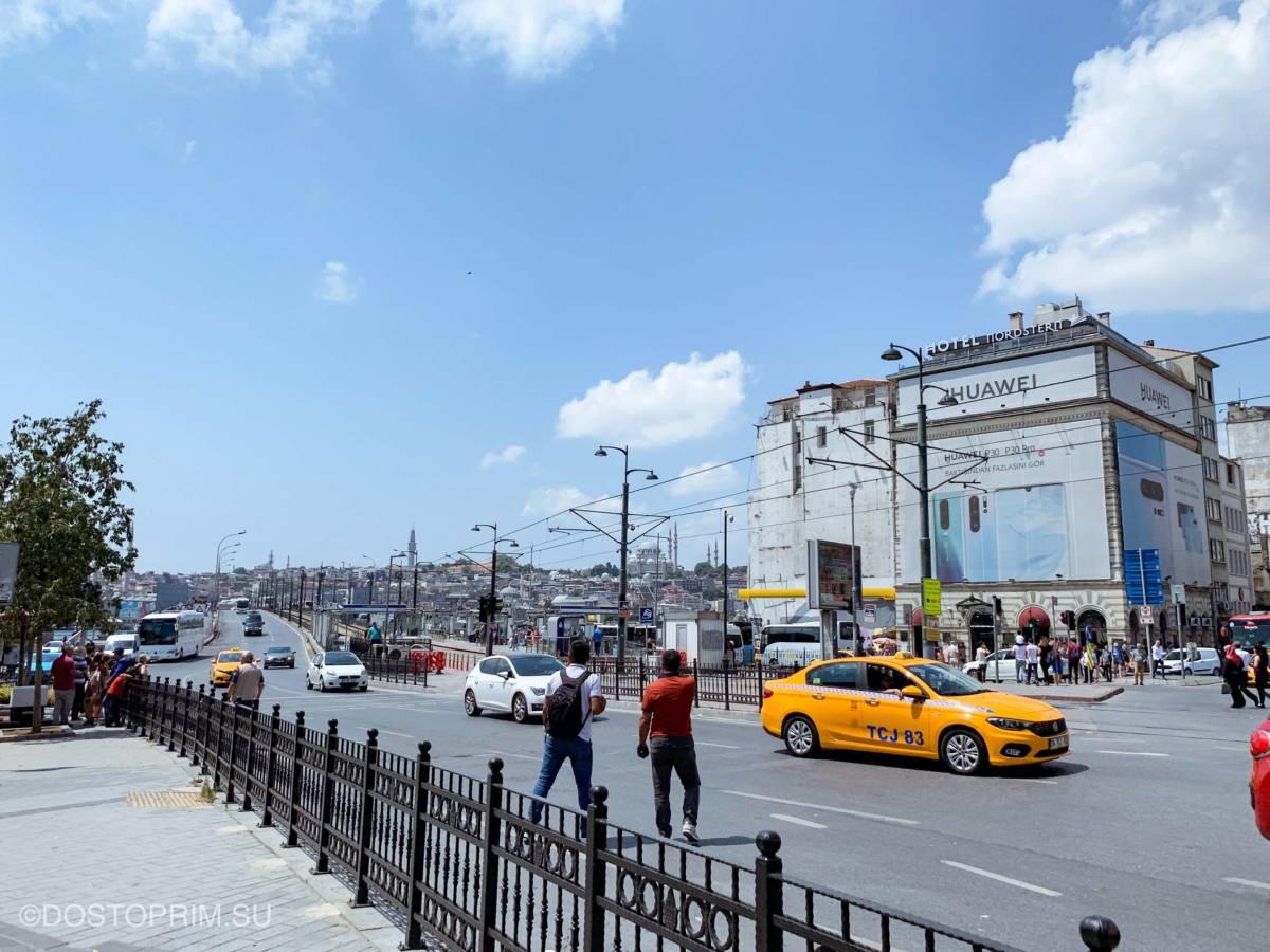 Поездка в такси по таксометру