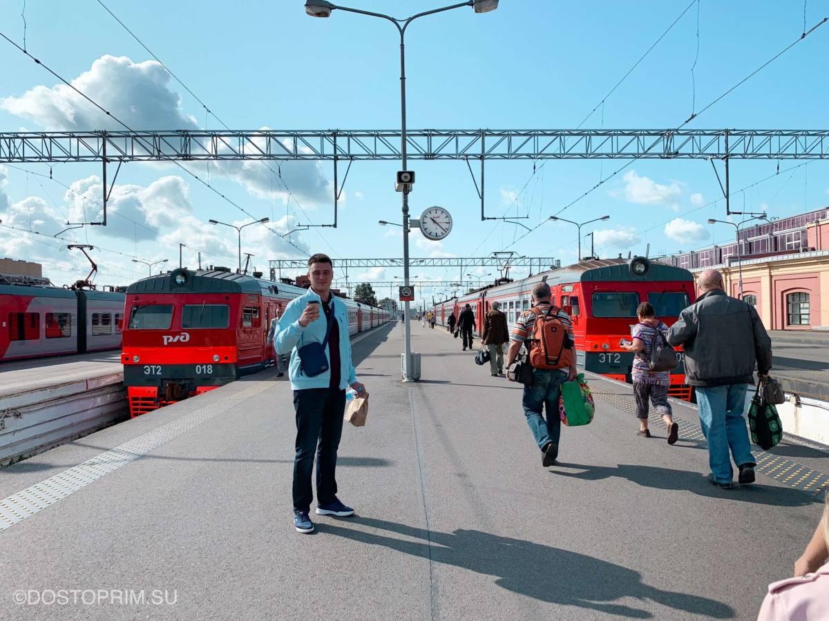 Расписание электричек Балтийский вокзал - Новый Петергоф