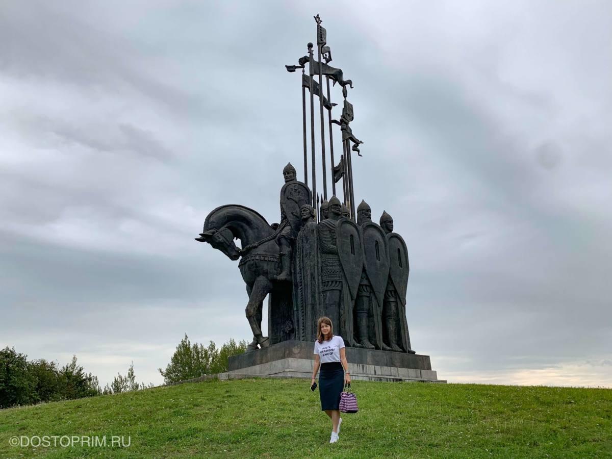Памятник на горе Соколиха