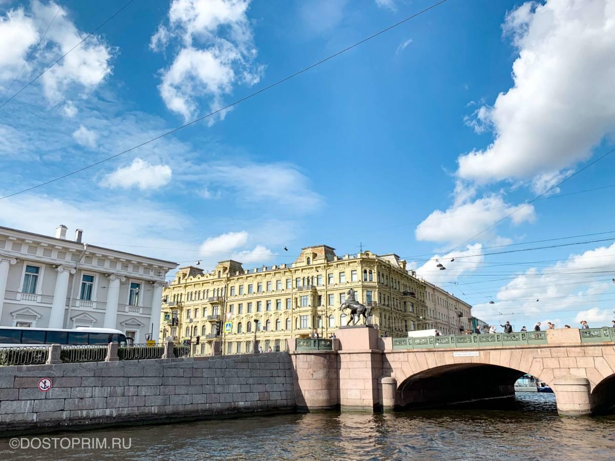 Аничков мост через Фонтанку