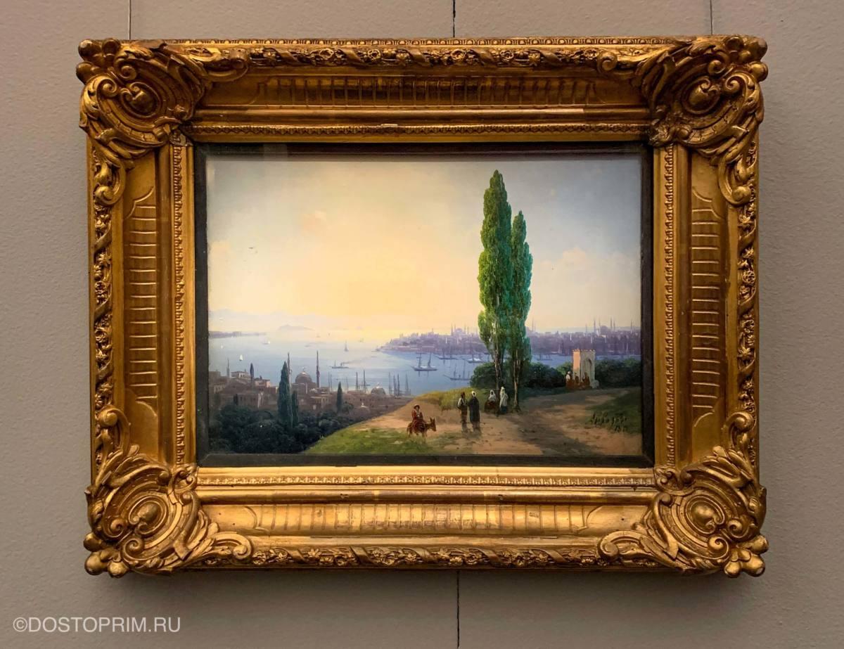 Вид на Золотой Рог. Айвазовский