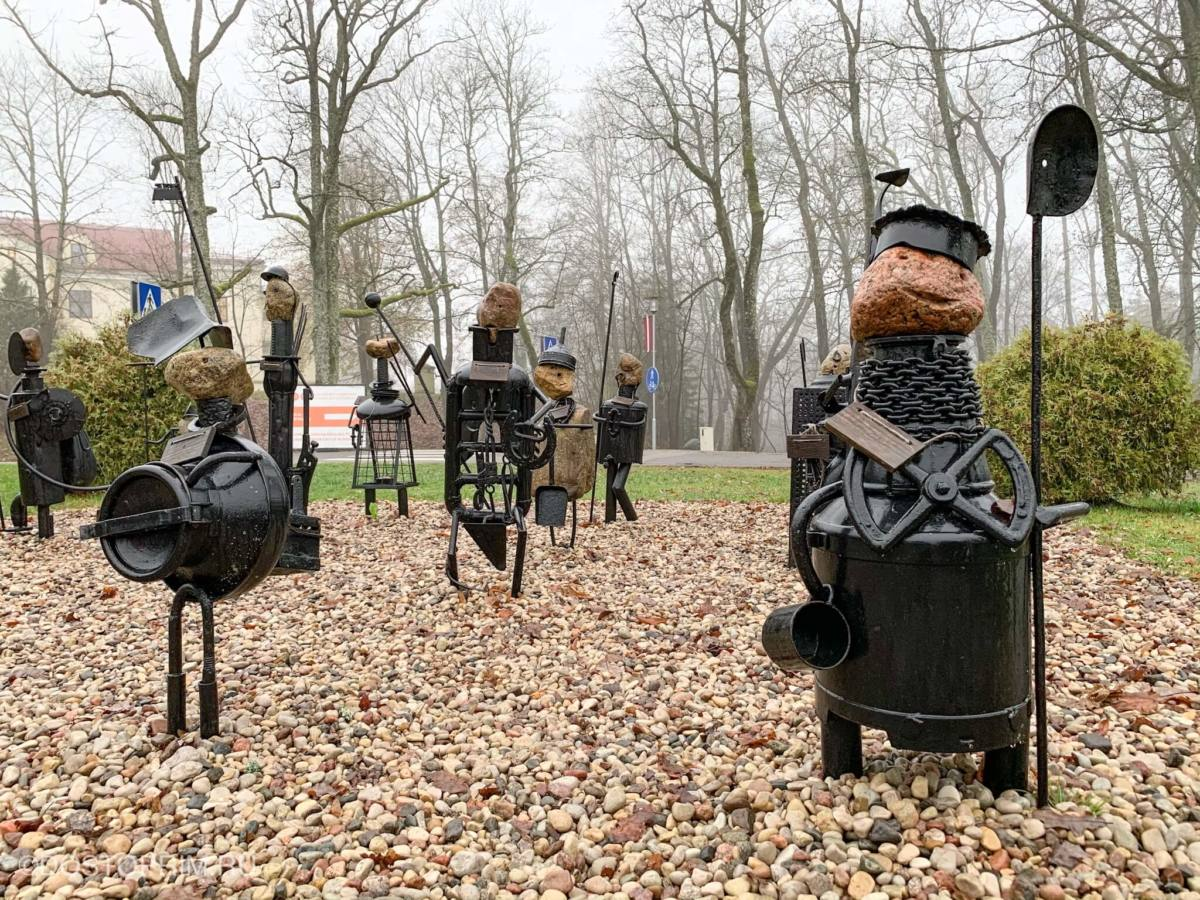 «Рыцарский парад» в Сигулде