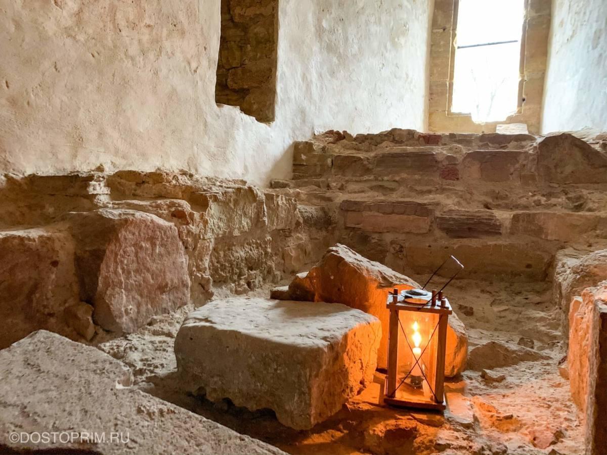Внутри крепости Цесиса