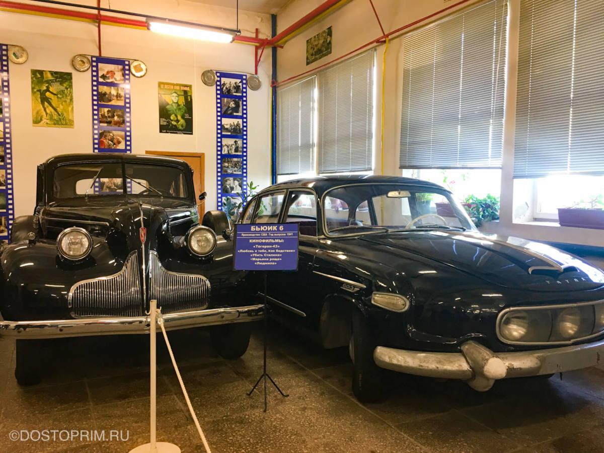 Ретро-автомобили на «Мосфильме»