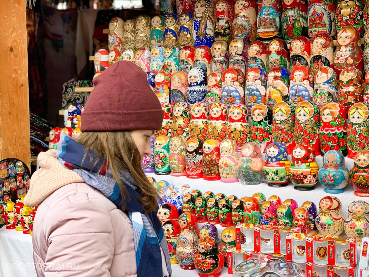 Торговые ряды у Измайловского Кремля