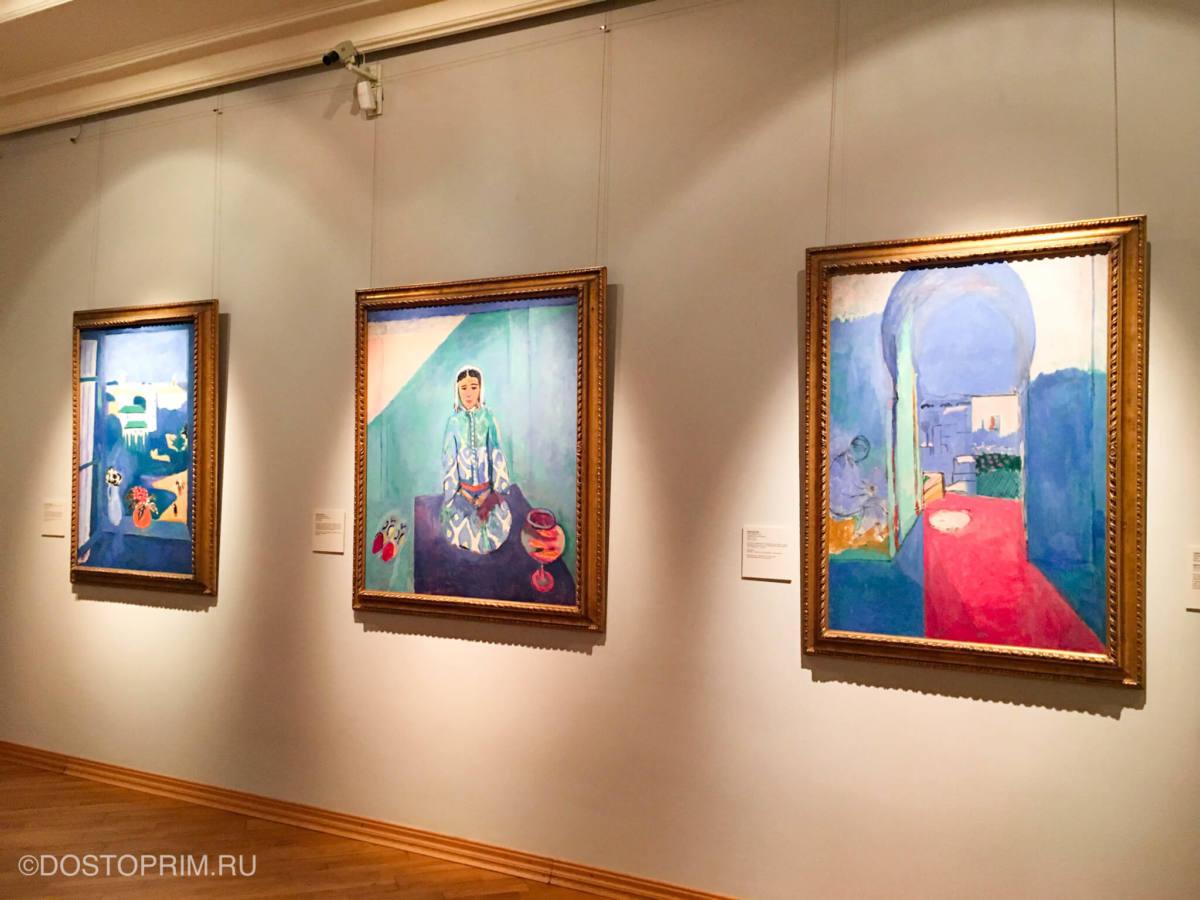 Картины в Пушкинском музее