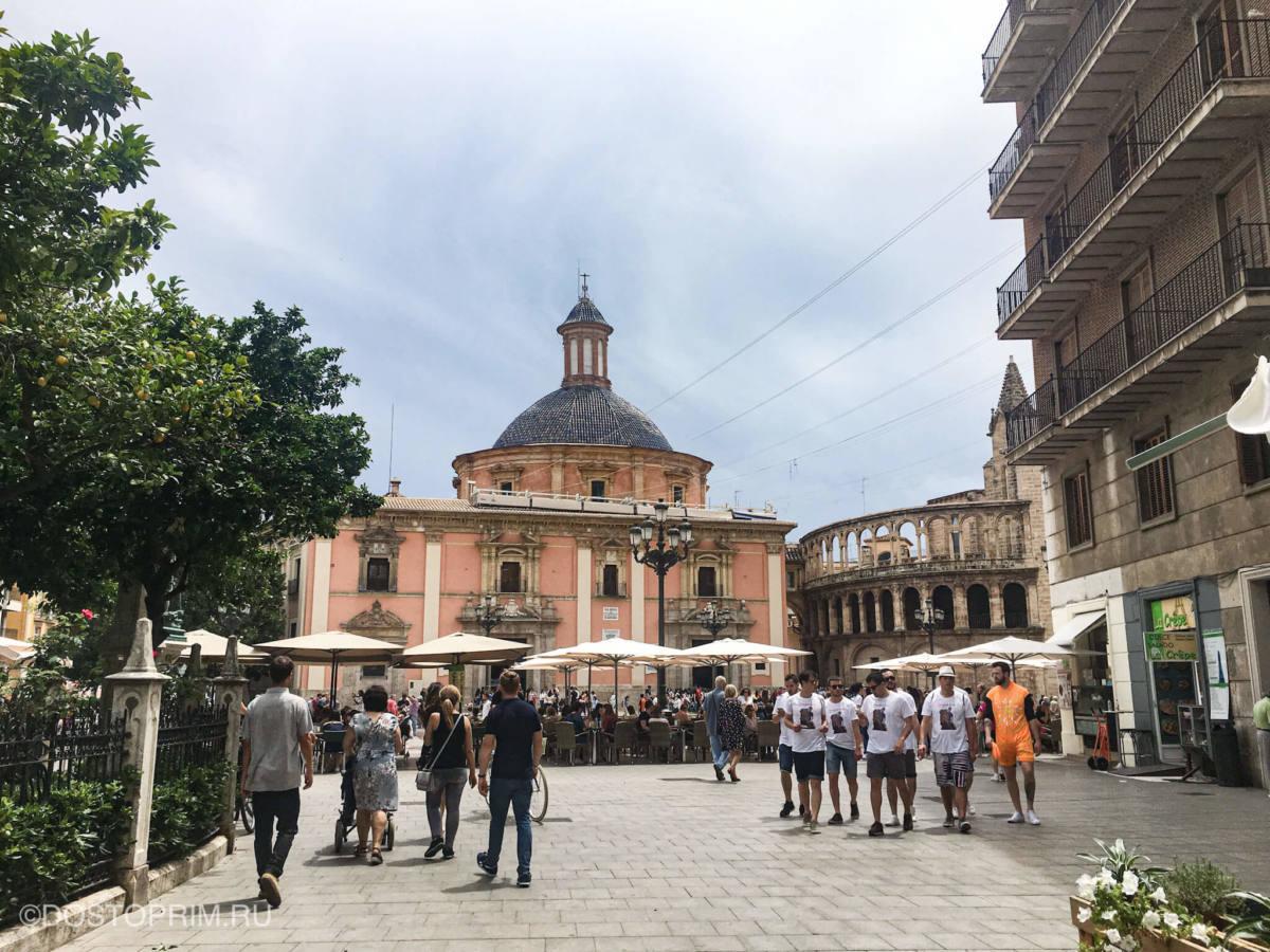 Барочная базилика Святой Девы Отверженных