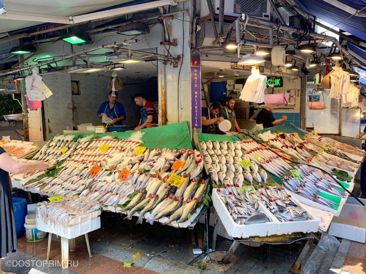 Рыбный рынок Кадыкёй