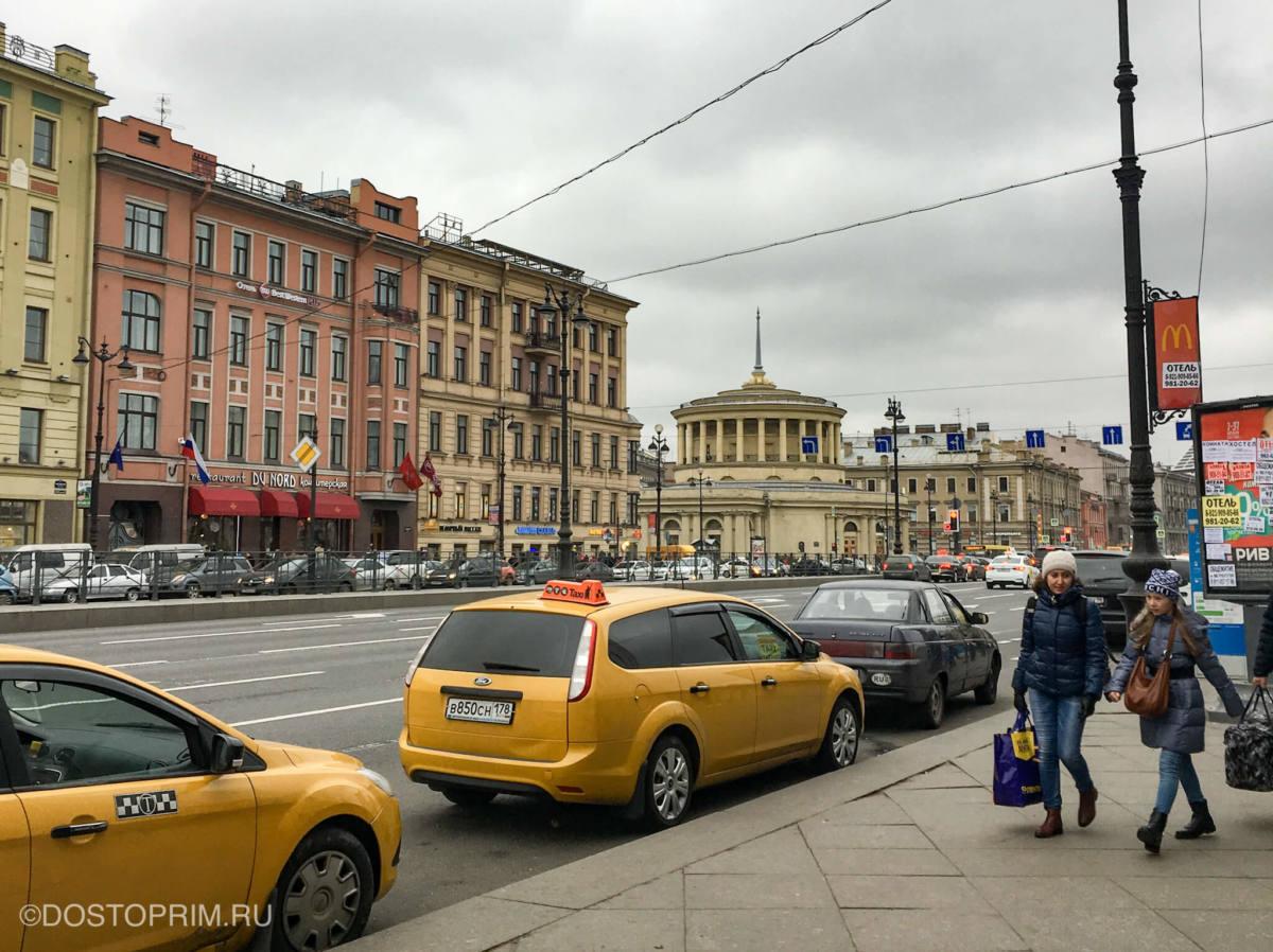Пеший маршрут по Невскому проспекту