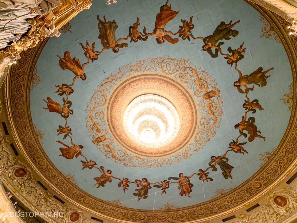Плафон в Мариинском театре